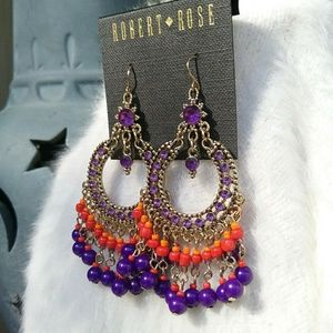 Robert Rose Boho Dangle Earrings